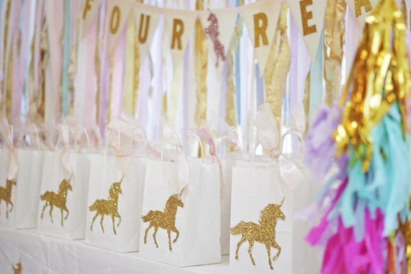 Kara's Party Ideas Magical  Magic Is Four Real  Unicorn Birthday