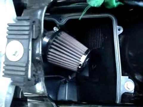 K&n Air Filter In Honda Unicorn