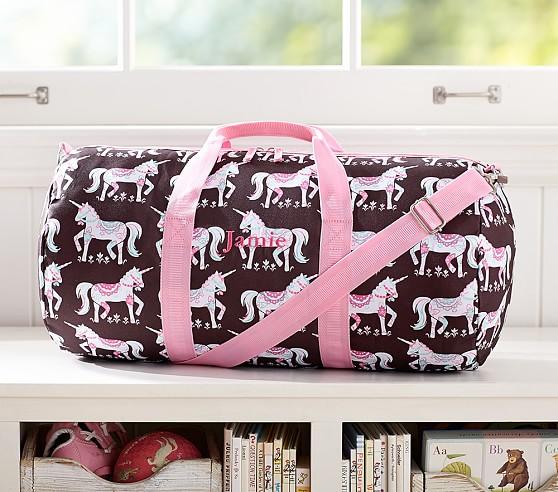 Mackenzie Chocolate Unicorn Duffle Bag