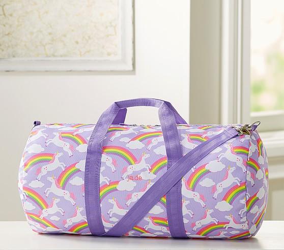 Mackenzie Summer Unicorn Large Duffle Bag