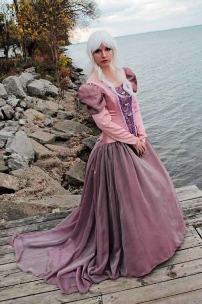 Magical Last Unicorn Lady Amalthea Cosplay