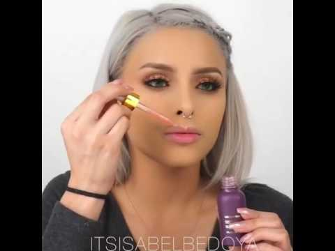 Makeup Tutorial By Isabel Bedoya In Farsalicare Unicorn Tears