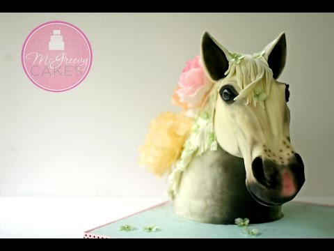 Makin' A Horse Head Cake