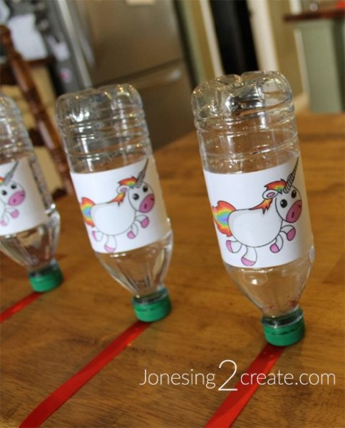 Minute To Win It Rainbow Unicorn Birthday Party Game Ideas