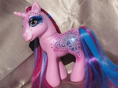 My Little Pony Custom     Lilavati     G3 Henna Styling Pony