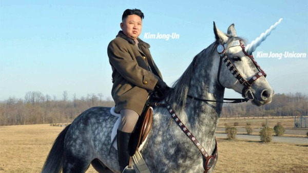 North Korean Archeologists Discover Ancient Unicorn Lair (seriously)