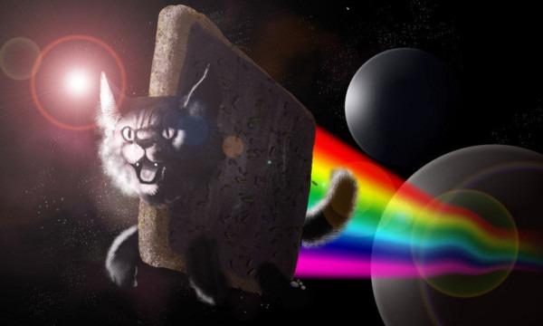 Nyan Cat Plus Robot Unicorn Attack