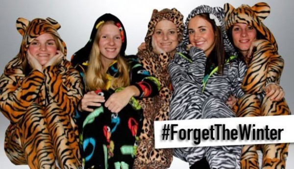 Onesie South Africa Forget The Winter Campaign