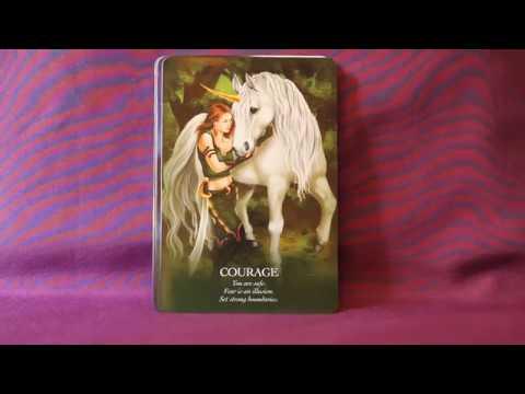 Oracle Of The Unicorns Full Flip Through