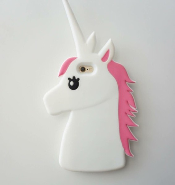Phone Cover, Where To Get This   , Unicorn, White, Pink, Ipod