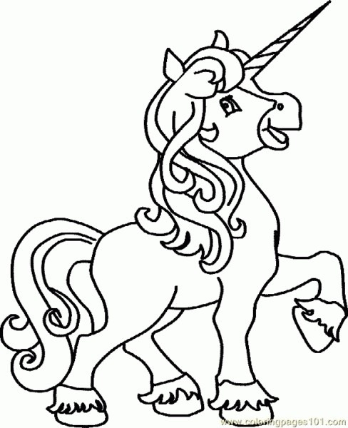 Pictures Of Unicorns To Print And Color Cute Unicorn Coloring