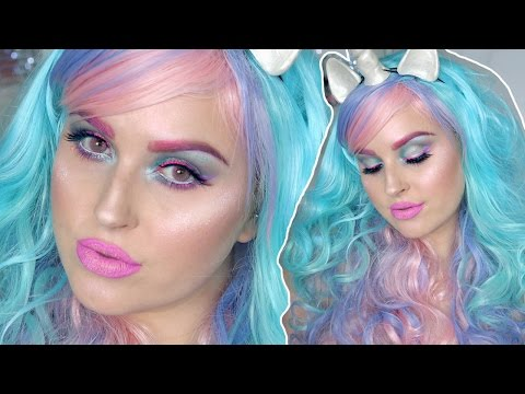 Unicorn Halloween Makeup Tutorial