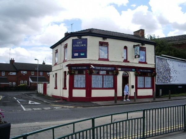 Pubs Of Manchester  Unicorn, Broughton Road