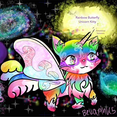 Rainbow Butterfly Unicorn Kitty By Extraneous Solutions On Amazon