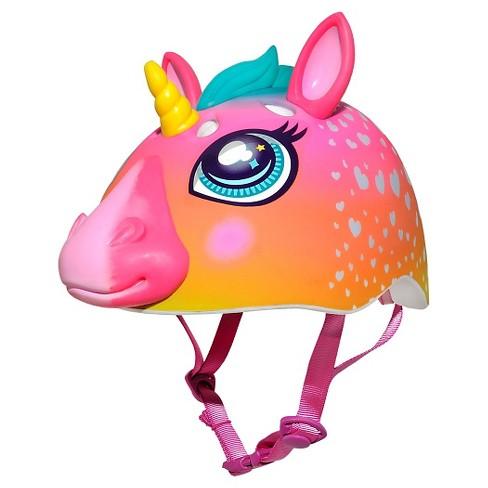 Raskullz Rainbow Unicorn Child Bike Helmet   Target