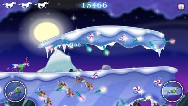 Robot Unicorn Attack Christmas Edition By [adult Swim]