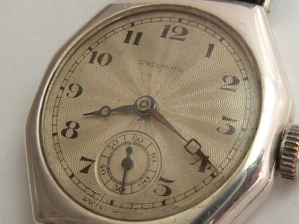 Rolex Unicorn Octagonal Silver 1927