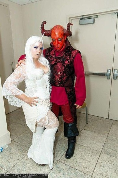 Serendipity Love Cosplay The Last Unicorn & The Red Bull
