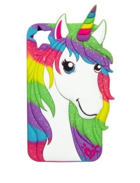 Silicone Unicorn Tech Case