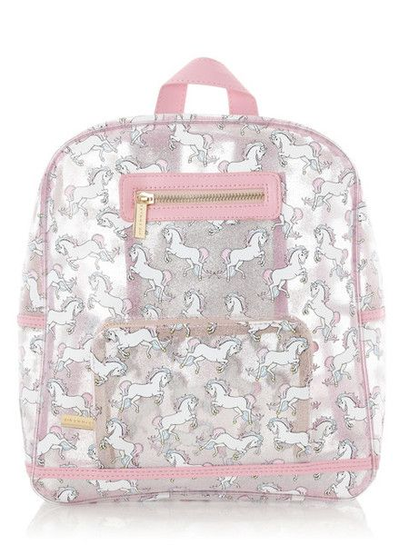 Skinny Dip Glitter Unicorn Backpack