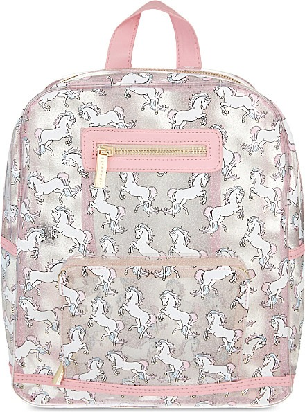 Skinnydip London Glitter Unicorn Backpack In Gray