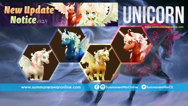 Summoners War Unleashes The Unicorn Hero With Skills And Runes