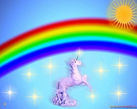 Sunshine And Unicorns And Rainbows