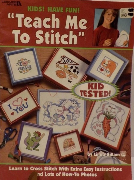 Teach Me To Stitch Cats Dogs Horses Unicorns Bears Frogs Love