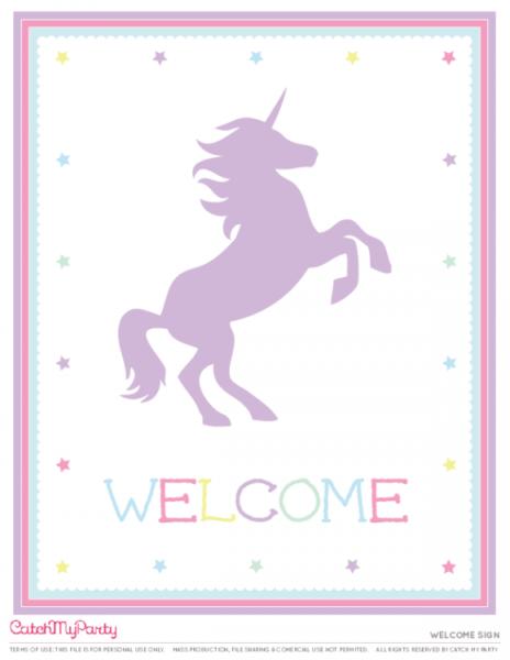 The Best Free Unicorn Birthday Party Printables