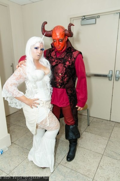 The Last Unicorn And The Red Bull  Cosplay
