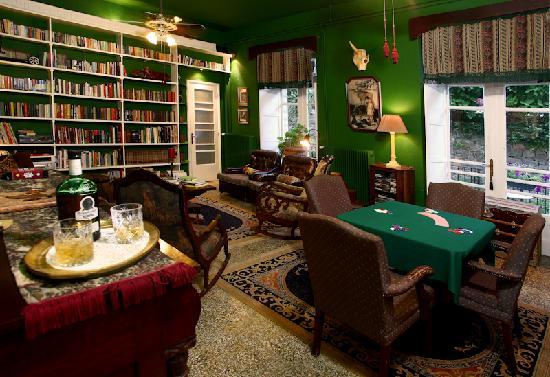 The Lost Unicorn Hotel Library