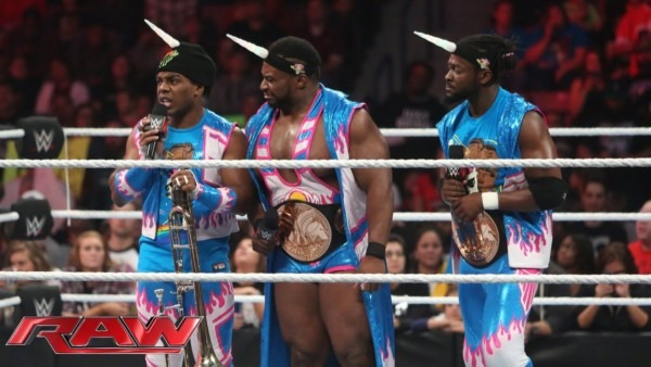 The New Day Has No Need For Ladders  Raw, December 7, 2015