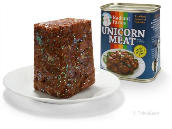 Thinkgeek Selling Canned Unicorn Meat