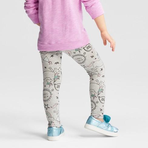 Toddler Girls' Unicorn Leggings
