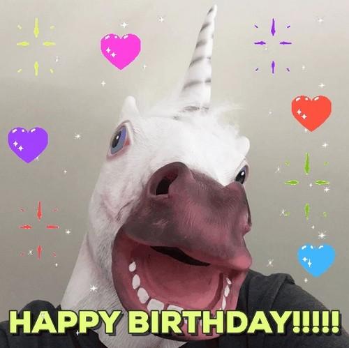 Unicorn Birthday Memes