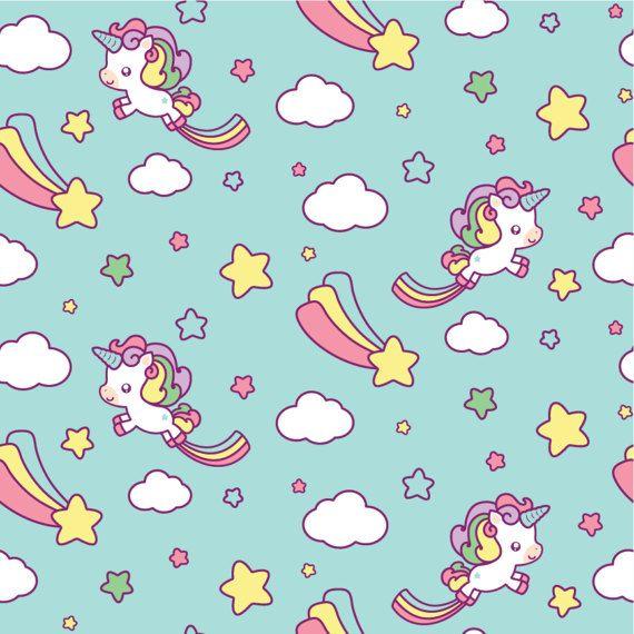 Unicorn Clipart, Kawaii Unicorn Clipart, Unicorn Clipart, Cute