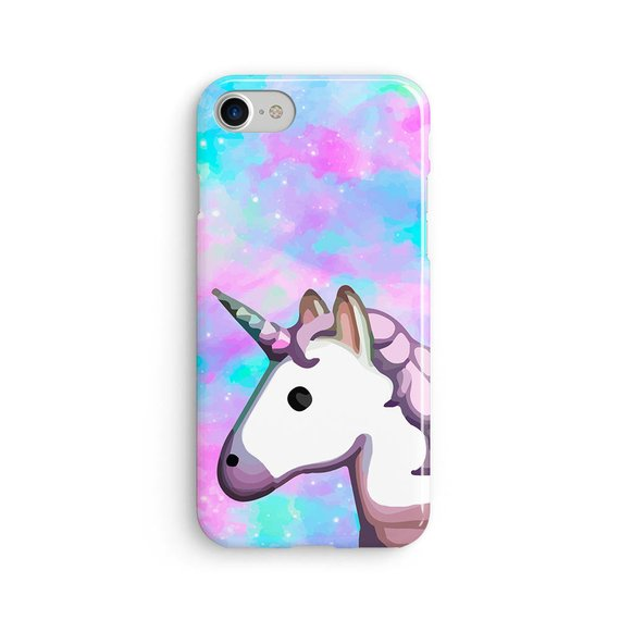 Unicorn Emoji Space Rainbow Iphone X Case Iphone 8 Case