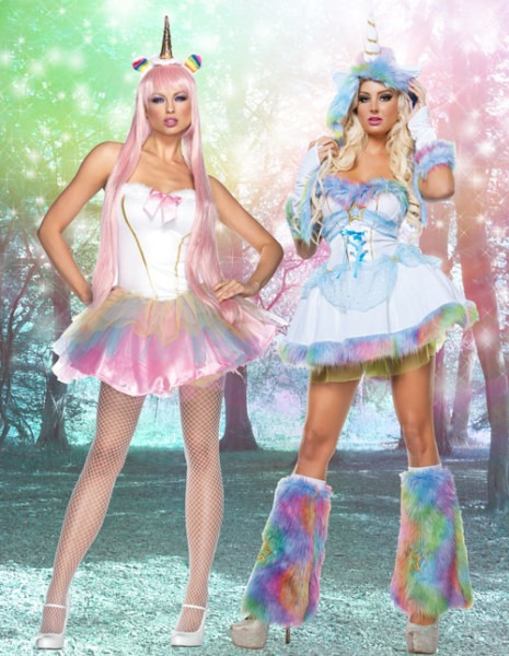 Unicorn Halloween Costumes For Kids & Adults