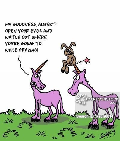 Unicorn Horn Cartoons And Comics