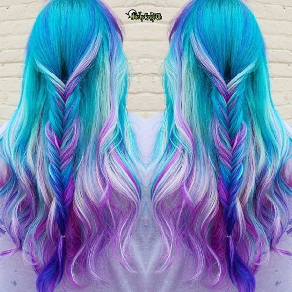 Unicorn Melt By @hairbykaseyoh  Been Promising My Long Time Client