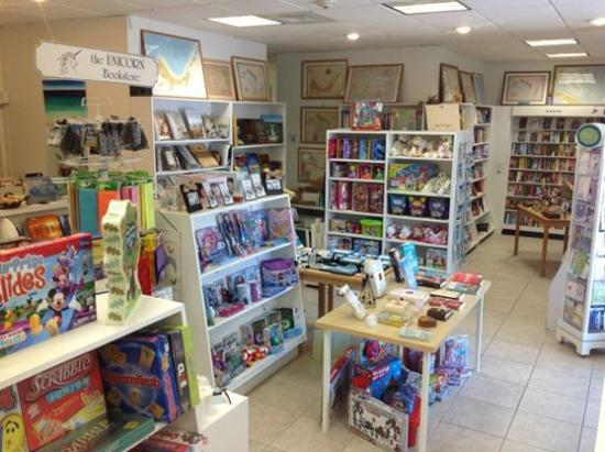 Unicorn Offers A Large Selection Of Books, Magazines, Toys, Games