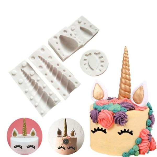 Unicorn Shape Silicone Cake Ice Fondant Chocolate Mold Unicorn