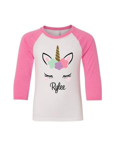 Unicorn Shirt Girls Unicorn Shirt Unicorn Tee Shirt Toddler