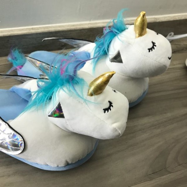 Unicorn Slippers From Typo, Women's Fashion, Shoes On Carousell