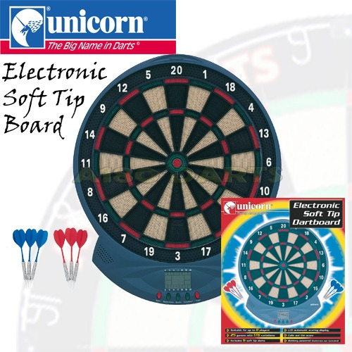 Unicorn Soft Tip Electronic Dartboard