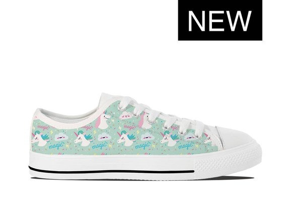 Unicorn Vans Style Custom Unicorn Shoes Custom High Tops