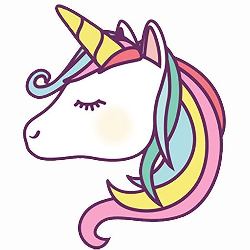 Unicorns Emoji And Stickers By Stuart Sutcliffe