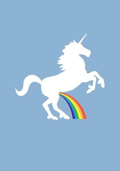 Unicorns Piss Rainbows