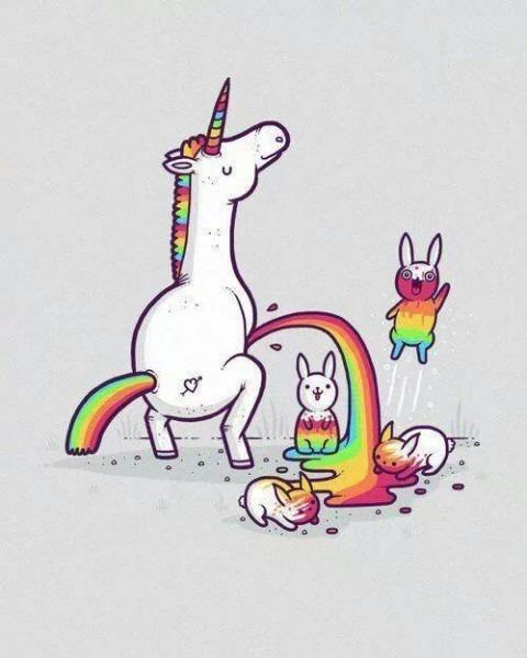 Unicorn's Rainbow Pee ♡ Shared By Manuela Di Lorenzo