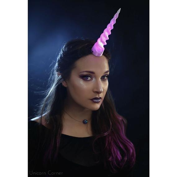Unilight™ Unicorn Horn   Led Light Up Unicorn Horn   Glow In